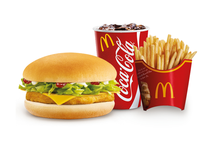 Chick'n McCheese Meal Deal