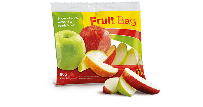 Fruit Bag | McDonald's New Zealand