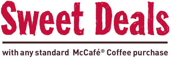 McCafe sweet deals