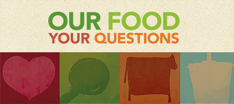 Our Food Your Questions