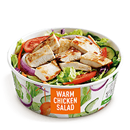 Grilled Warm Chicken Salad